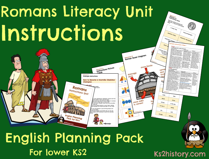 The Romans Instructions Unit (Download)