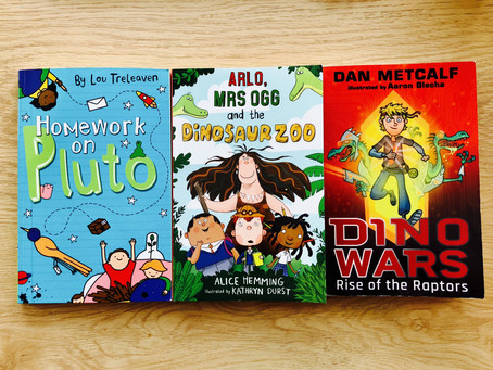 Three New Junior Fiction Titles from Maverick