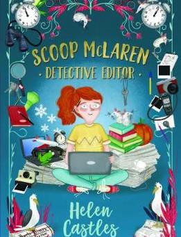 Review & Author Blog: 'Scoop McLaren: Detective Editor' / Helen Castles