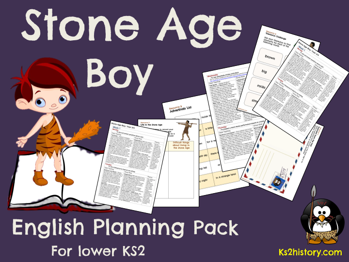 Stone Age Boy Planning Pack (Download)