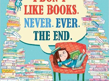 Review & Author Blog: 'I Don't Like Books. Never. Ever. The End'