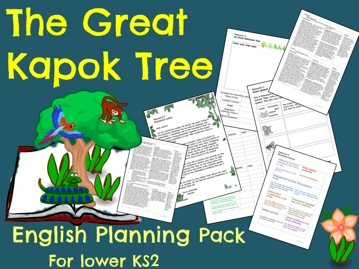 The Great Kapok Tree Planning Pack (Download)