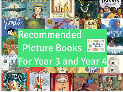 Best picture books for year 3 and year 4