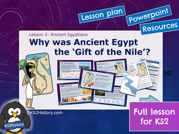 2. Why was Ancient Egypt the 'Gift of the Nile'?