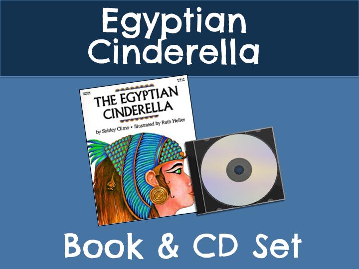 The Egyptian Cinderella Book & CD Set