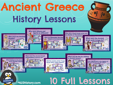Ancient Greece History Lessons