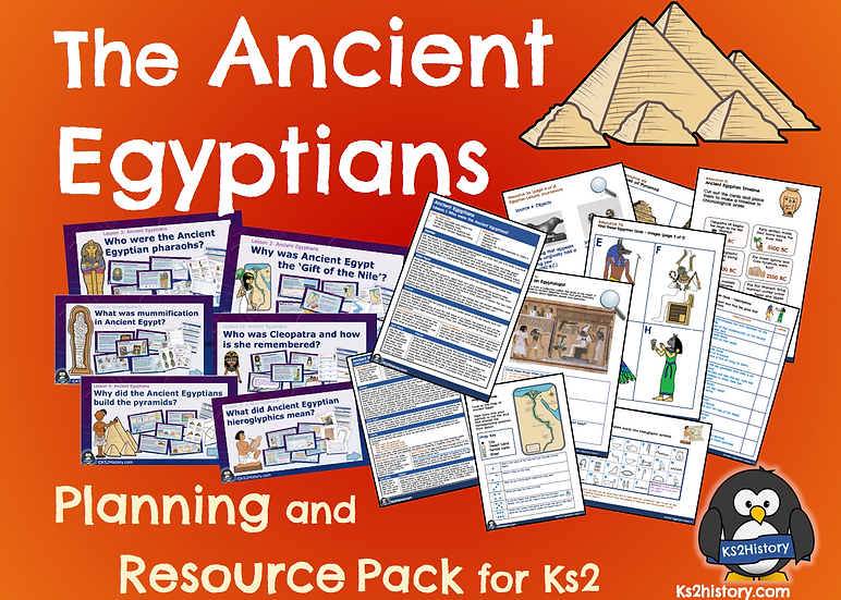 Ancient Egyptians Resource Pack (Download)