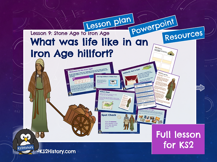 9. What was life like in an Iron Age hillfort?