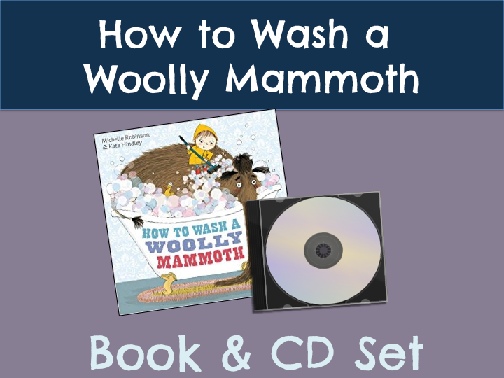 How to Wash a Woolly Mammoth Book & CD Set