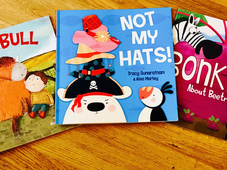 Three Books to Cause Giggles at Storytime