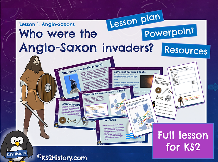 1. Where did the Anglo-Saxons come from?