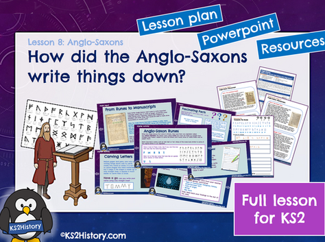 Lesson 8 Anglo-Saxons