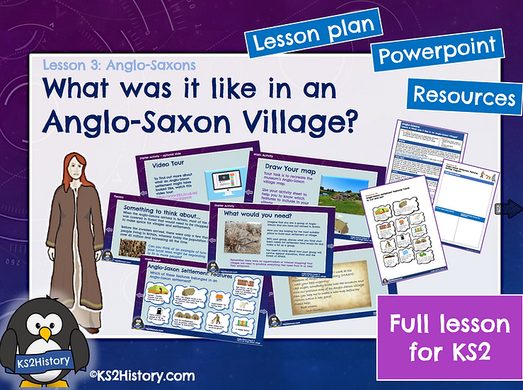 3. What was it like in an Anglo-Saxon village?