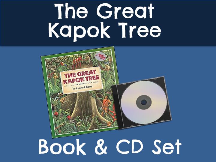 The Great Kapok Tree Book & CD Set