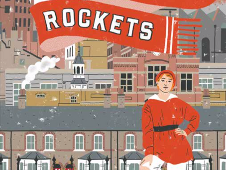 Review & Author Blog: Lily and the Rockets / Rebecca Stevens