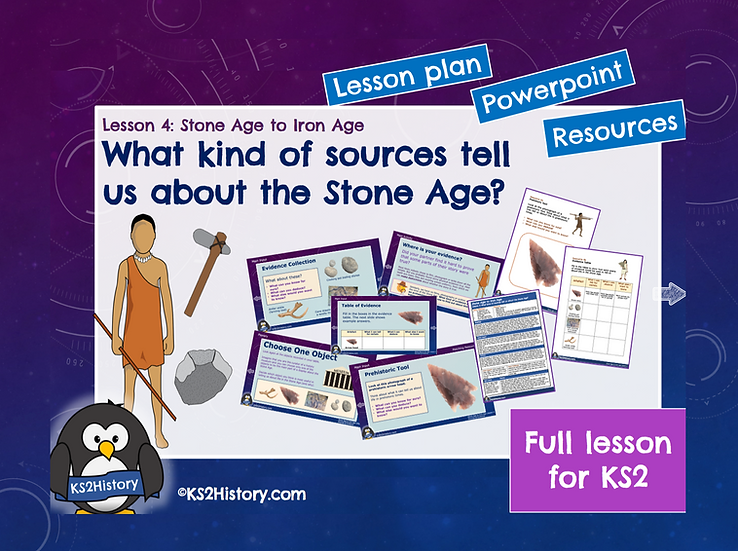 4. What kind of sources tell us about the Stone Age?