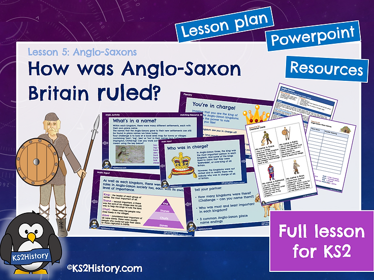 5. How was Anglo-Saxon Britain ruled?