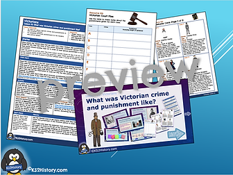 victorian crime and punishment lesson ks