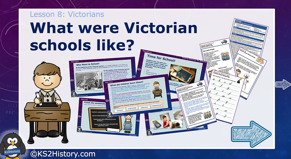 8. What were Victorian schools like?