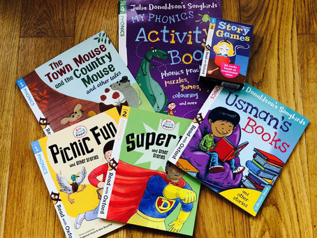 Supporting reading at home with new resources from OUP