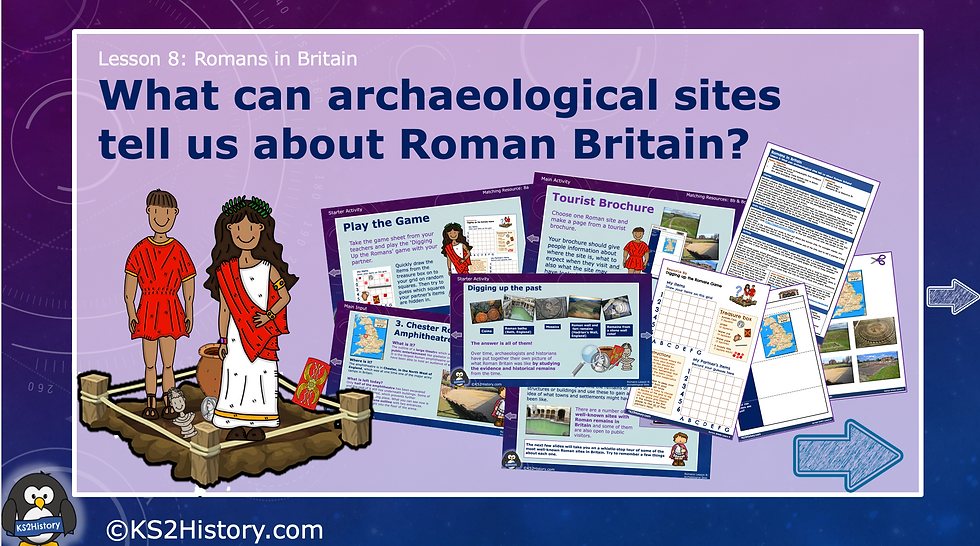 What can archaeological sites tell us about Roman Britain?