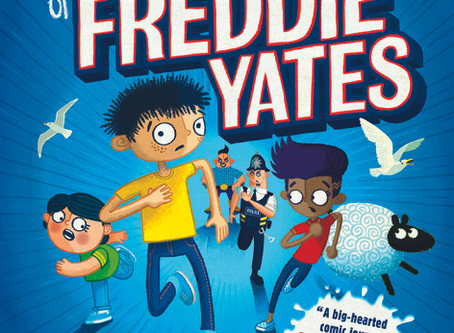 Review & Author Blog: The Super Miraculous Journey of Freddie Yates / Jenny Pearson