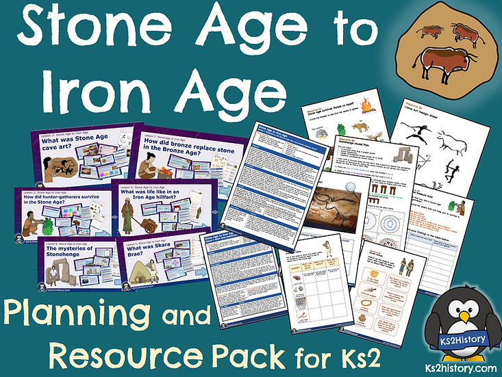 Stone Age to Iron Age Resource Pack (Download)
