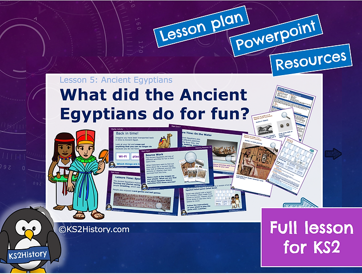 5. What did the Ancient Egyptians do for fun?