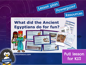 Ancient Egyptians Lesson7