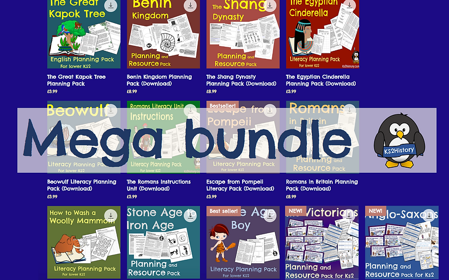 KS2History Digital Resource Bundle