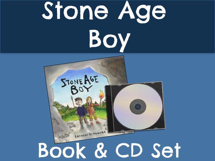 Stone Age Boy Book & CD Set