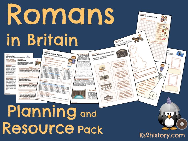 Romans in Britain Resource Pack (Download)