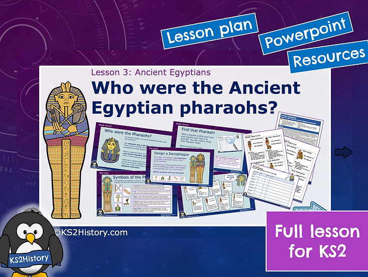 3. Who were the Ancient Egyptian pharaohs?