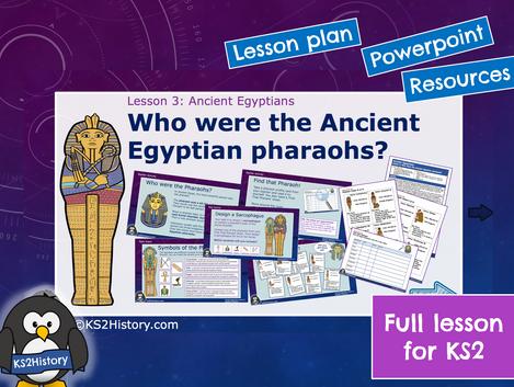Ancient Egyptians Lesson3