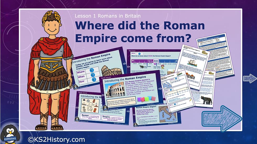 Where did the Roman Empire come from?