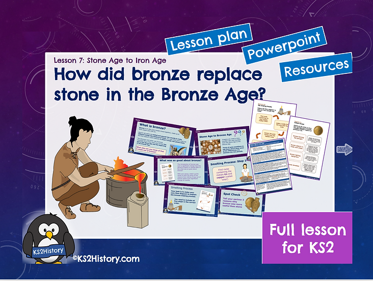 7. How did bronze replace stone in the Bronze Age?