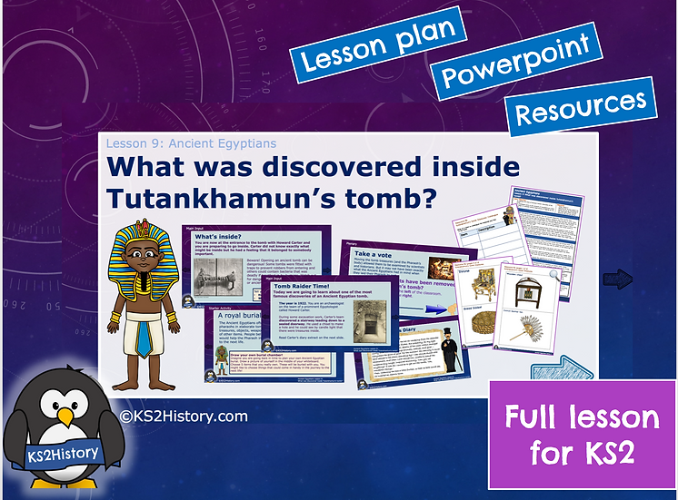 9. What was discovered inside Tutankhamun's tomb?