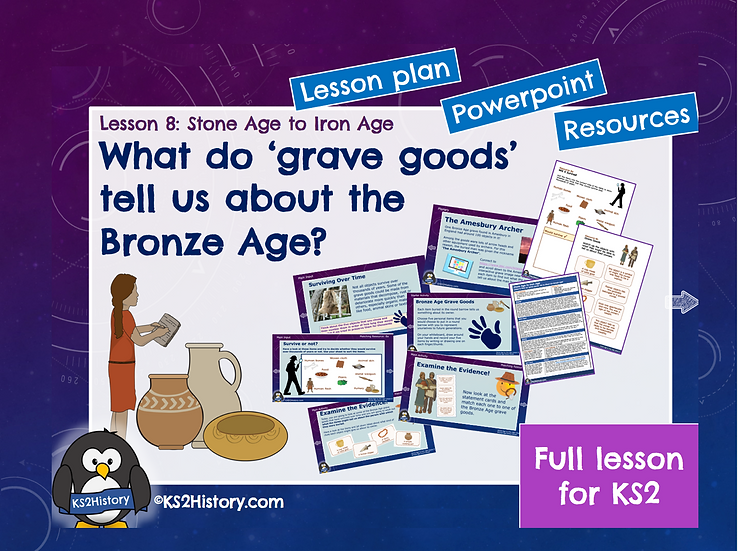 8. What do grave goods tell us about the Bronze Age?
