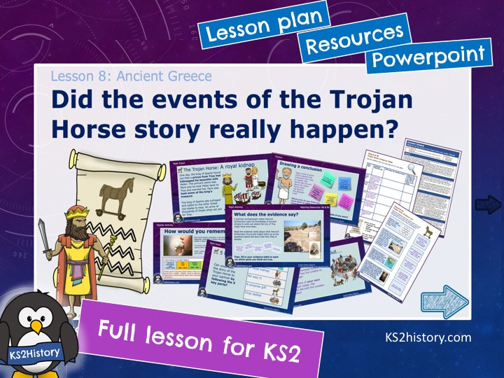 Did the events of the Trojan Horse story really happen?