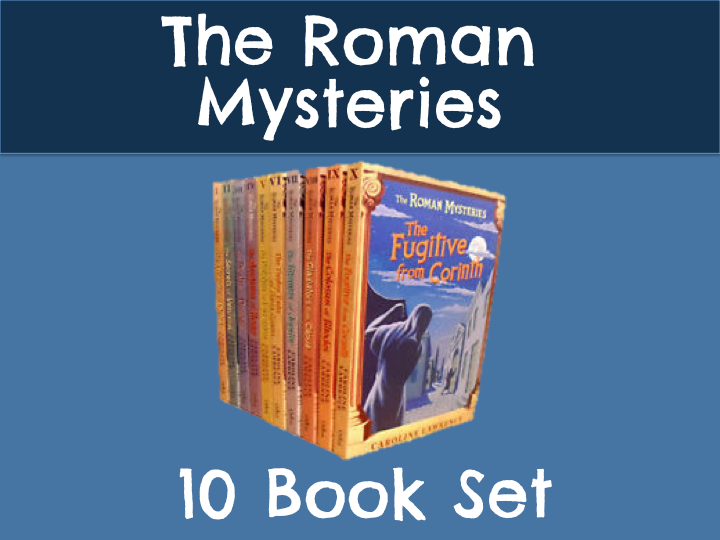 Roman Mysteries - Set of 10 Books