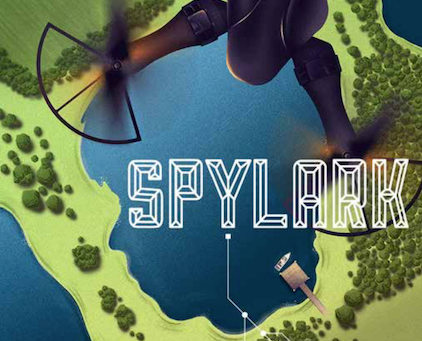 Review & Author Blog: Spylark / Danny Rurlander