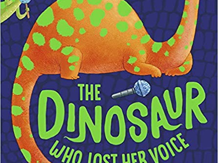Review & Guest Post: Julie Ballard / The Dinosaur Who Lost Her Voice