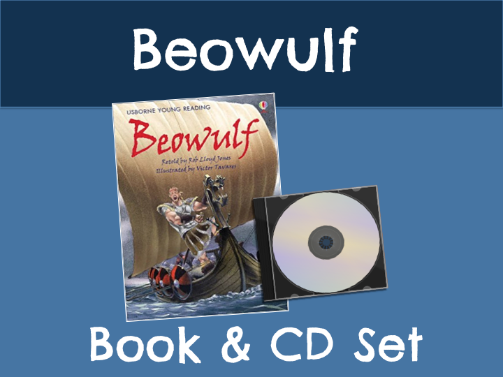 Beowulf Book & CD Set