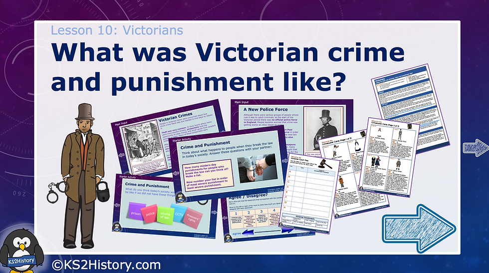 10. What was Victorian Crime and Punishment like?