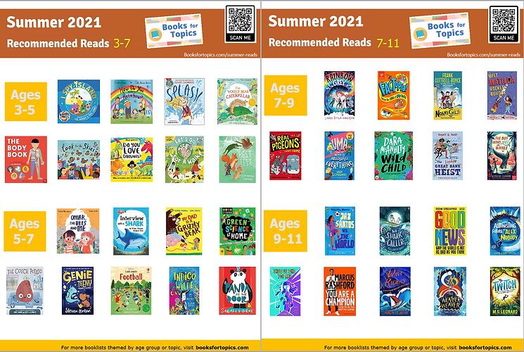summer recommendations children's books