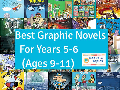 best graphic novels year 5 and year 6.jp