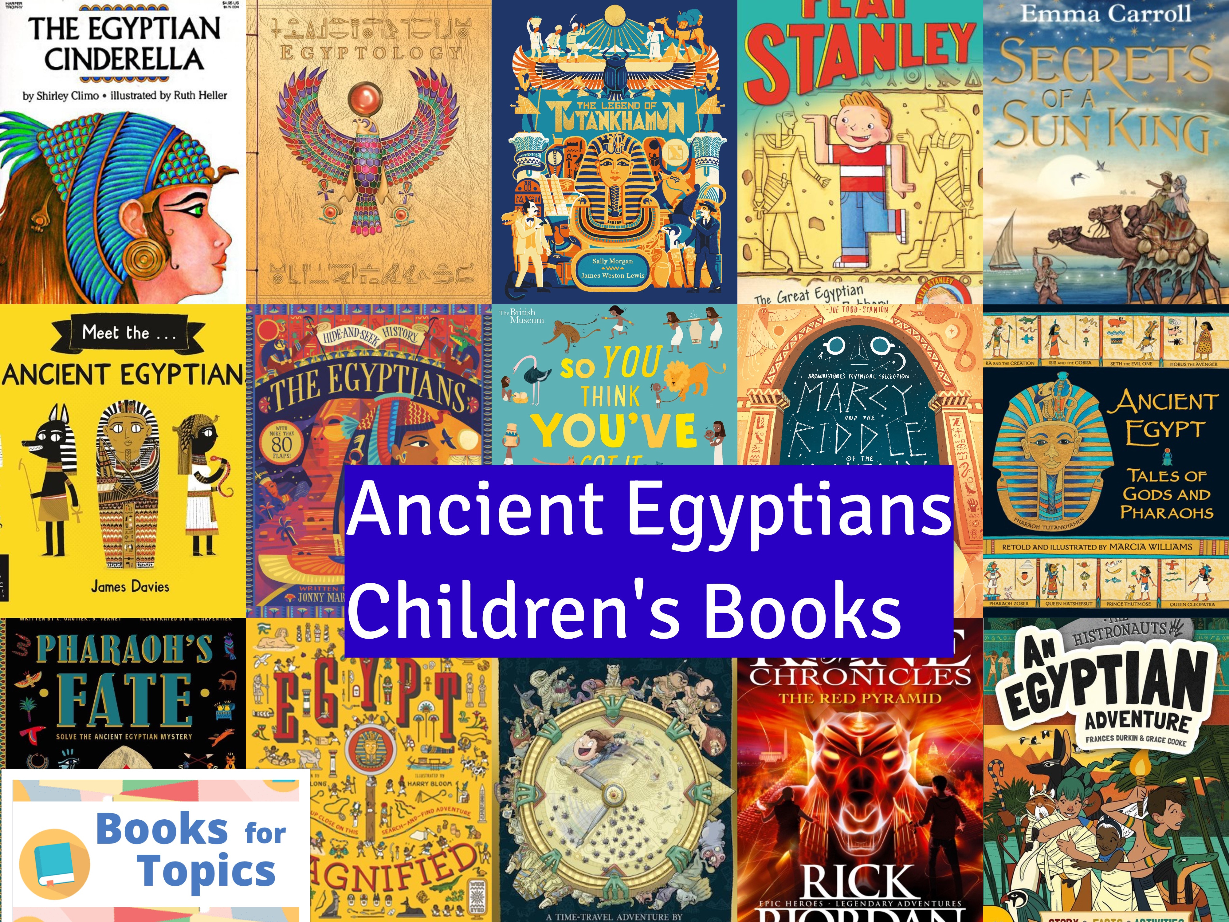 Children S Books Ancient Egypt Topic