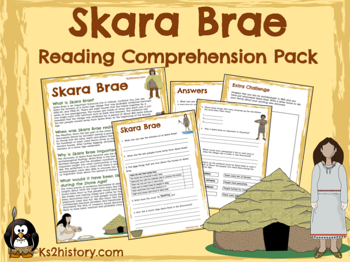 Skara Brae Comprehension Pack