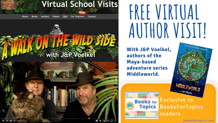 Sign up for a FREE author visit from J&P Voelkel