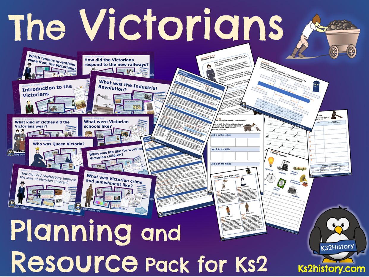 Victorians Planning Pack